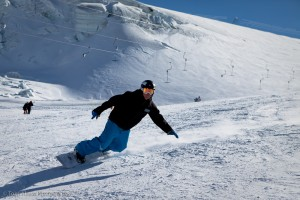 Carving in Zermatt